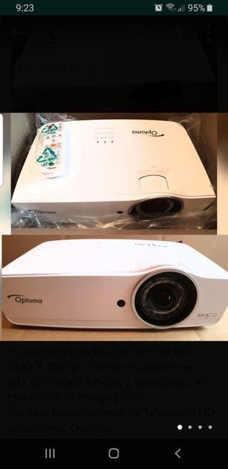 Proyector Optoma full HD EH 460ST