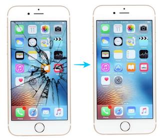 Reparación de pantallas móviles iPhone
