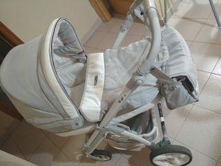 Carrito de bebé Marca Bebecar Impecable + ACCESORI