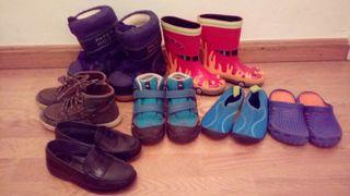 Lote 8 pares zapatos 26-29