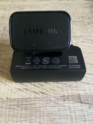 Cargador rápido Samsung S10 + cable ORIGINAL