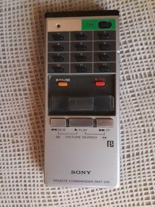 Mando a distancia de video beta sony Betamax