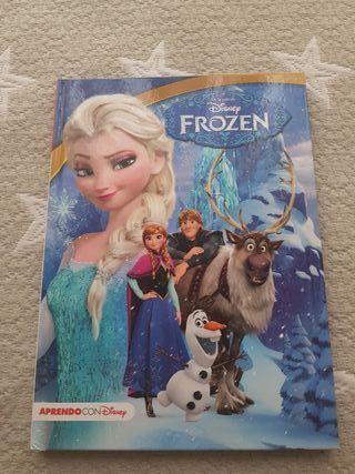 Libro infantil Frozen