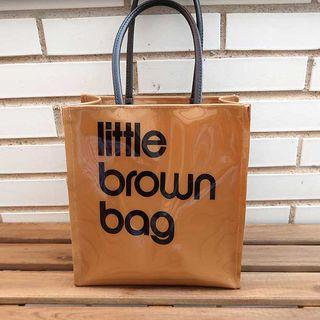 Bolsa Bloomingdale's Little Brown Bag Original