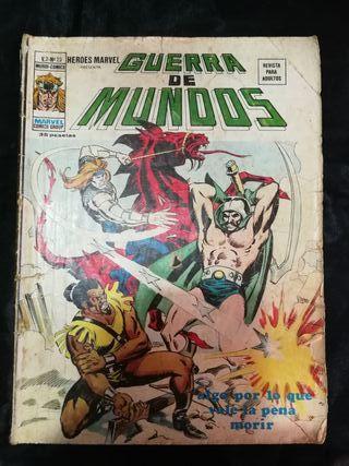 Guerra de mundos, Marvel comics