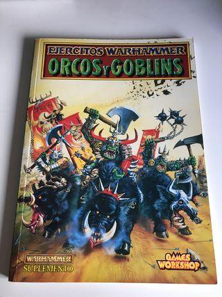Warhammer libro de ejército orcos y goblins