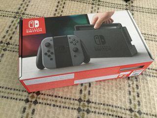 Nintendo Switch Gris como nueva