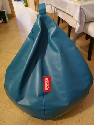 Puff color azul