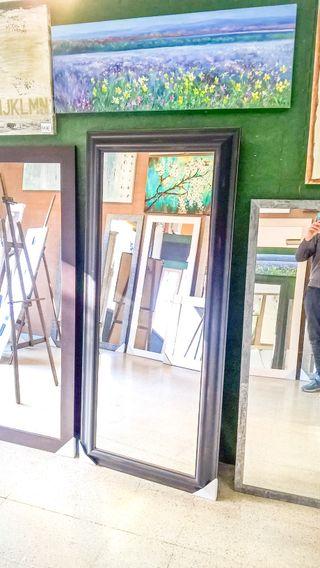 NUEVO Espejo Negro 180x60