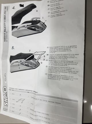 Soporte Shad Yamaha xmax 125