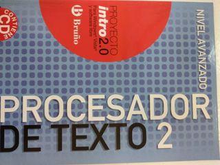 Informática ESO Intro 2.0 Procesador texto 2 Bruño