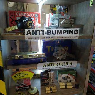 Cerrojos AntiBUMPING/OkUPAS (Instalacion incluida)
