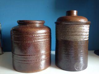 Set de Jarrones de cerámica portuguesa