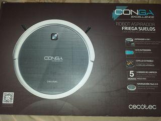 Robot Aspirador Friegasuelos CONGA EXCELENCE nuevo