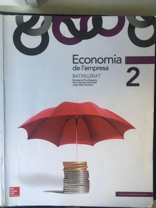 Libro economía de la empresa 2 bachiller