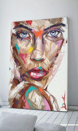Lienzo Color Face