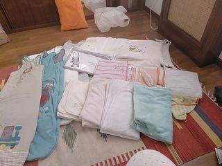productos cuna, toallas, calientabiberon