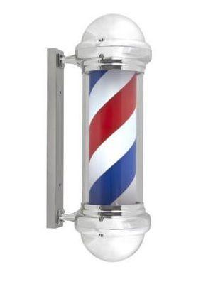 Polo poste de barbero para barbería vintage