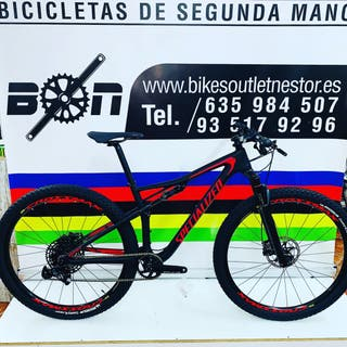 Bicicleta specialized Epic fsr comp carbón 29 nuev