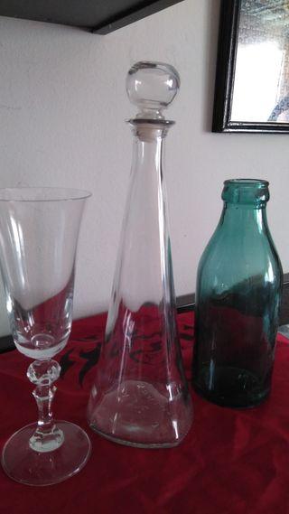 Lote de botellas