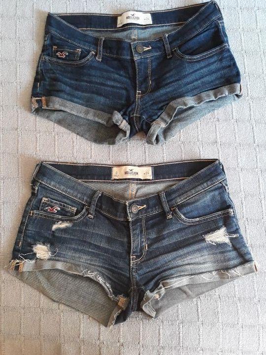 últimos lanzamientos alta calidad clásico Tejanos cortos (shorts) marca Hollister de segunda mano por ...