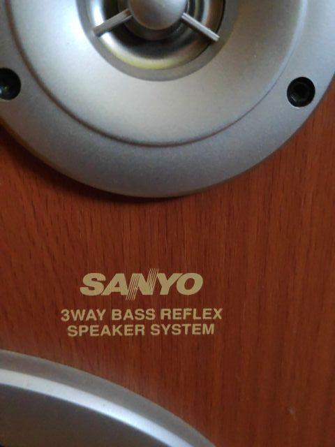 Altavoces Sanyo 100w