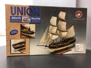Maqueta barco Union
