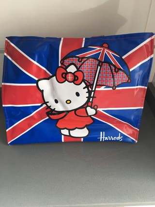 Bolso original Harrods Hello Kitty