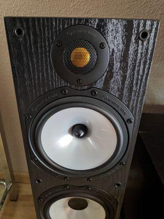 Altavoces suelo columnas home cinema Monitor Audio