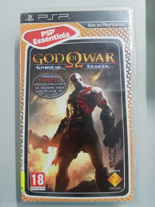 GOD OF WAR PSP!!!GARANTIA!!!