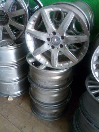 Llantas aluminio Mercedes 7,5x17