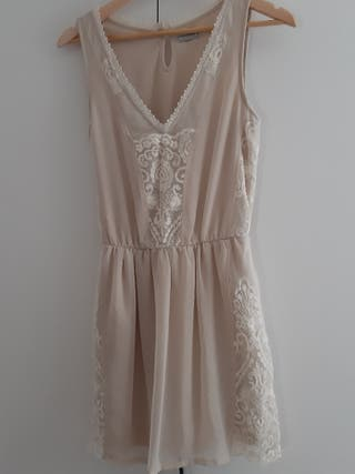 vestido pull and bear talla S
