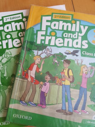 Family and friends 3 primaria