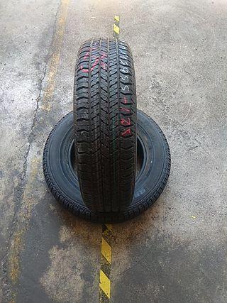 205 70 15 95 S vendo neumáticos seminuevos al 99%
