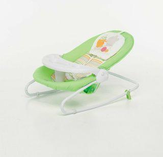 Foppapedretti Verde, Color blanco mecedora y silla