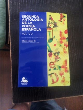 segunda antologia española