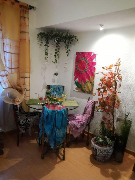 Mesa Comedor Vintage de Cristal Redondo