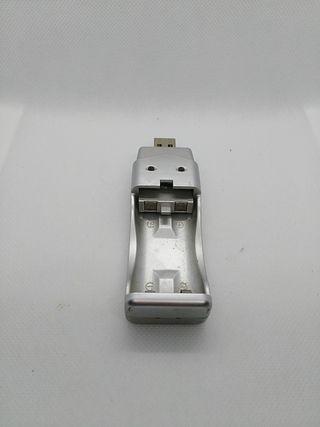 cargador de pilas usb