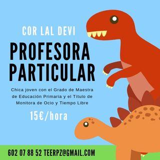 Profesora particular