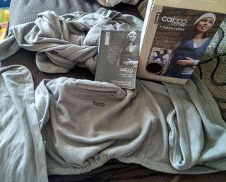 Portabebe Caboo carrier close + organic cotton
