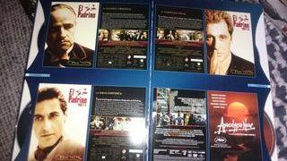 Libro DVD colección Coppola 7 películas El Padrino