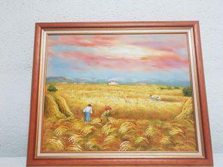 hermoso cuadro 8 euros pintado a mano