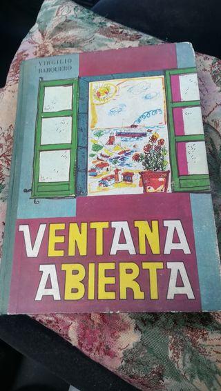 Ventana Abierta, libro escolar de 1966