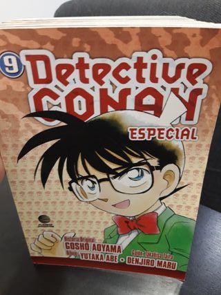 Pack de 9 comics detective conan especial