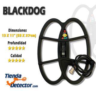 Platos Black Dog para detectores de metales