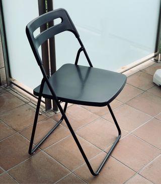 4 sillas plegables Ikea