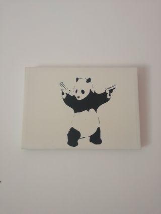 Cuadro Panda Banksy