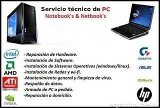 Reparacion de Ordenadores hardware/software
