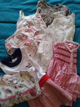 Lote de ropa de bebé (niña) 4-6 meses