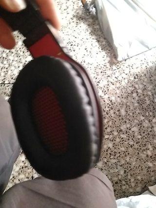 Auriculares con micrófono gaming